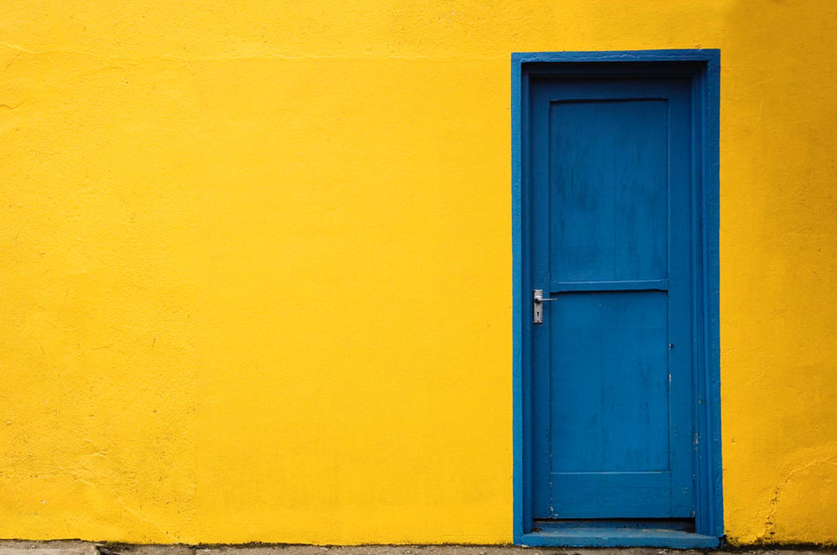 door. Blue Door Theory